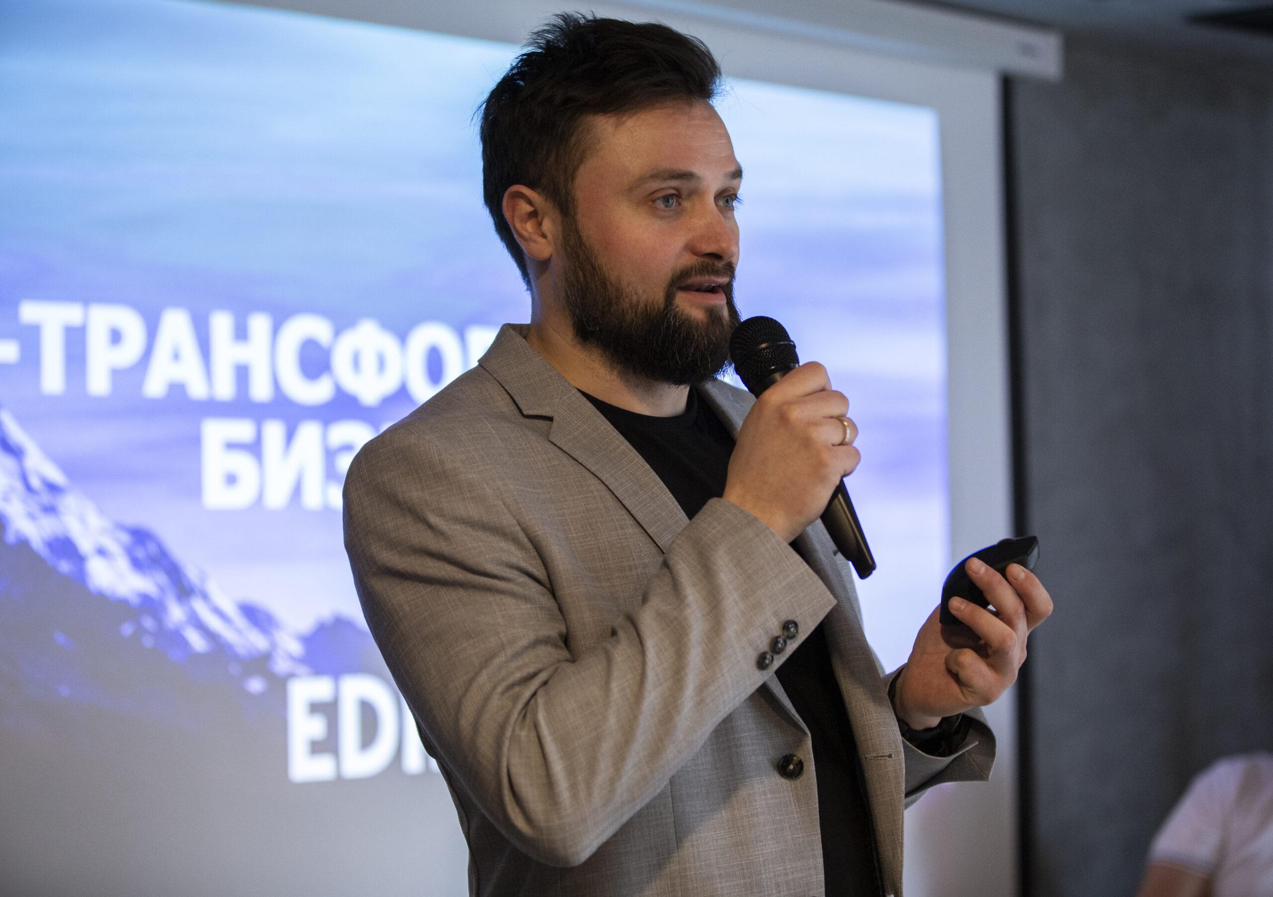 Вячеслав Сотник, директор по маркетингу и PR IT-компании EDIN, создатель маркетингового агентства MarketinGen