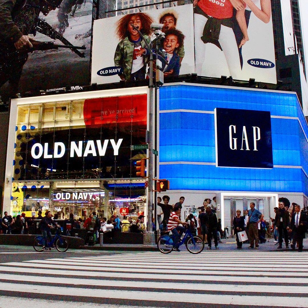 Как Gap Inc. будет компенсировать закрытие почти 350 офлайн магазинов