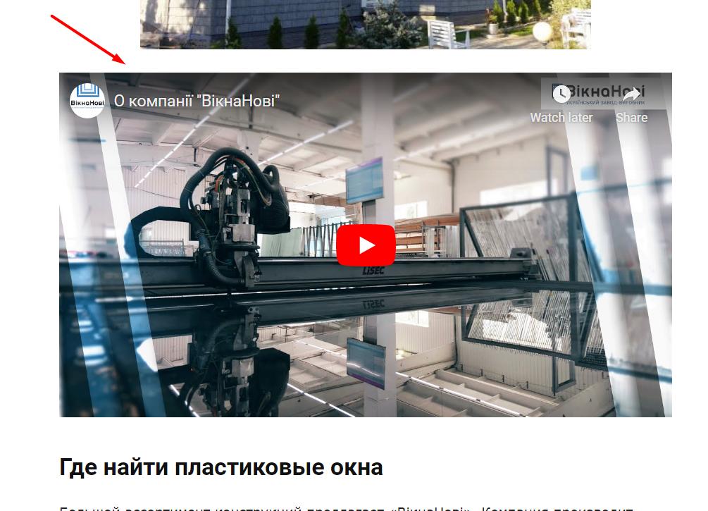 Размещение видео на внешних ресурсах для продвижения сайта