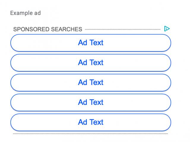 Google Ads отказался от объявлений со ссылками