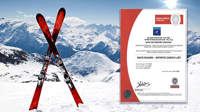 Курорт Ерджієс отримав сертифікат безпечного гірськолижного курорту від міжнародного бюро Bureau Veritas