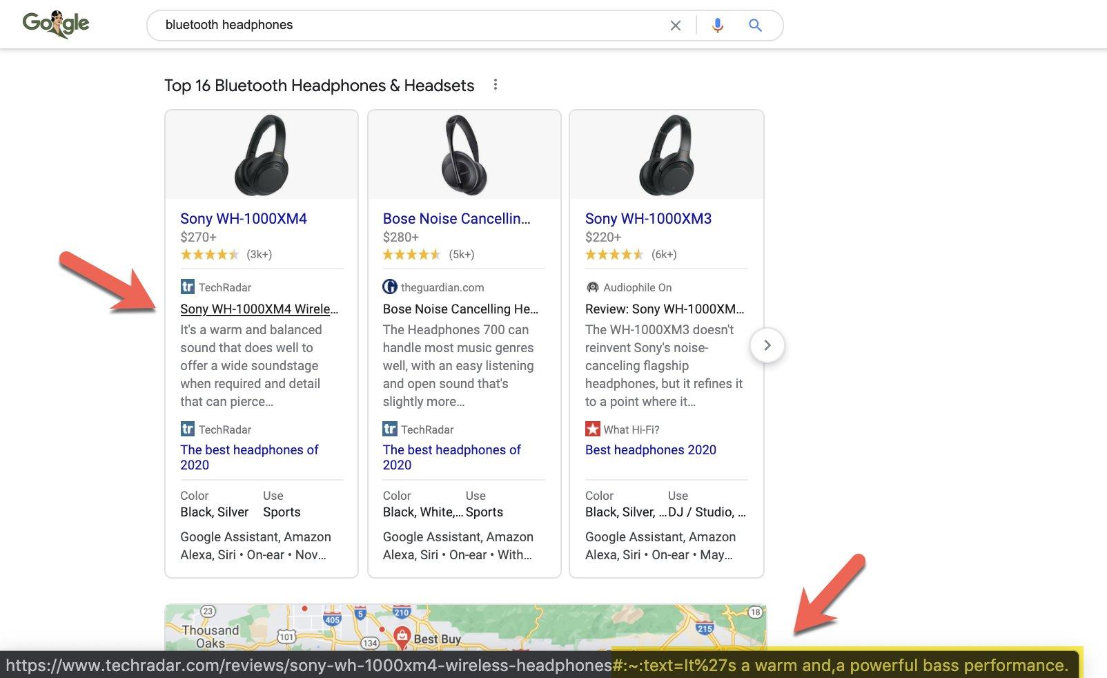 Google розширив функцію прокрутки на товарні оголошення