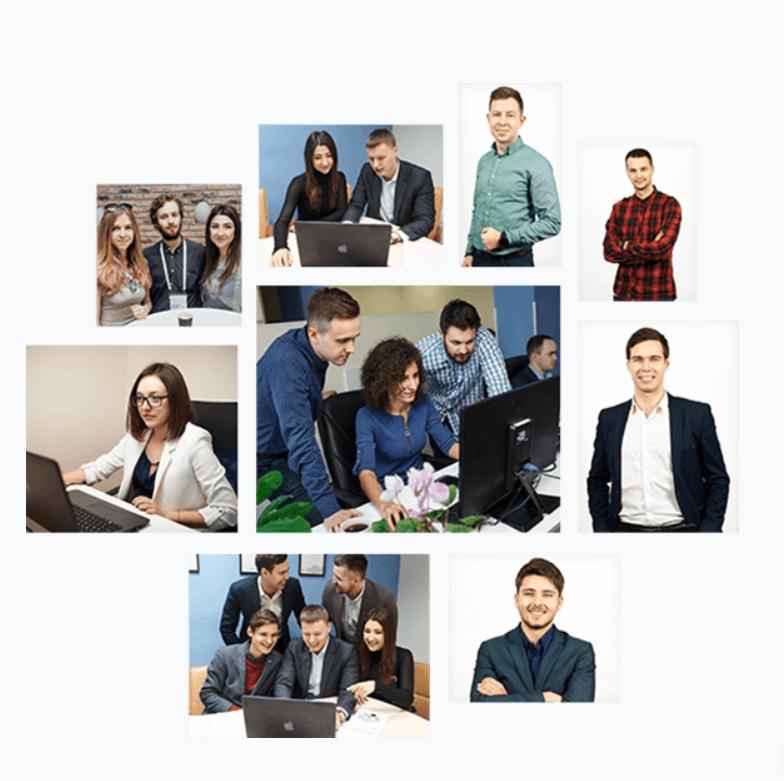 Фото сотрудников на сайте компании повышает доверие и улучшает конверсию