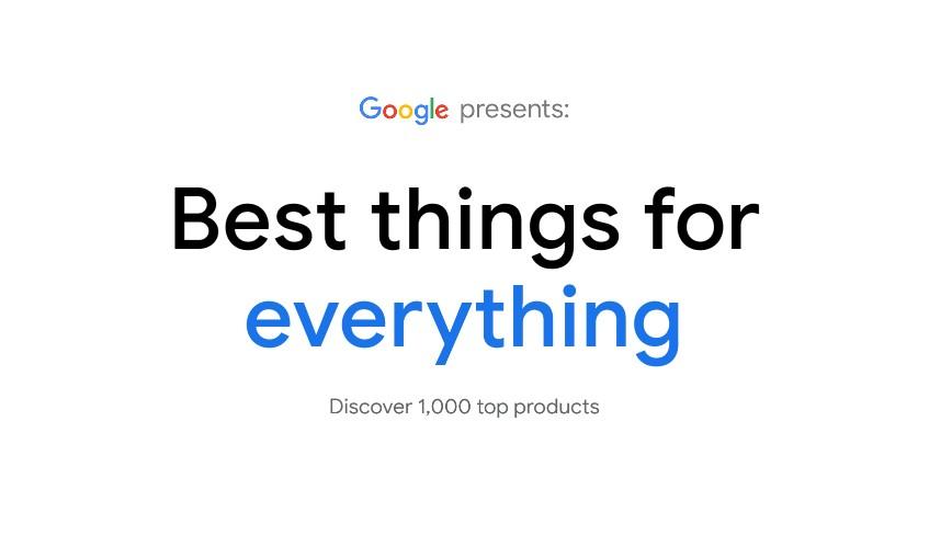 Google презентував сайт з пошуку кращих товарів в інтернеті