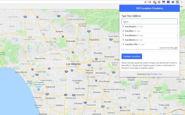 Расширение Precise Address Location Emulator